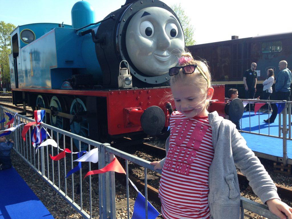Thomas weekend in het Spoorwegmuseum